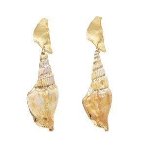 Jewelry - Seashell Dangle Earrings